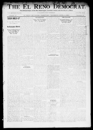 Primary view of object titled 'The El Reno Democrat. (El Reno, Okla. Terr.), Vol. 6, No. 10, Ed. 1 Thursday, April 4, 1895'.