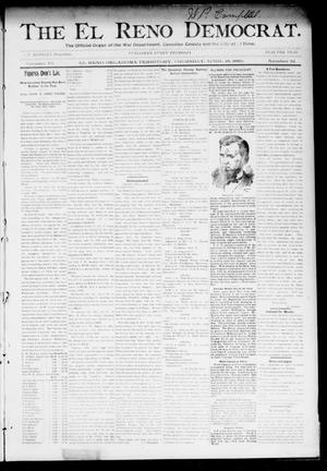 Primary view of object titled 'The El Reno Democrat. (El Reno, Okla. Terr.), Vol. 6, No. 12, Ed. 1 Thursday, April 18, 1895'.