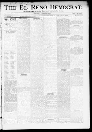 Primary view of The El Reno Democrat. (El Reno, Okla. Terr.), Vol. 6, No. 51, Ed. 1 Thursday, January 16, 1896
