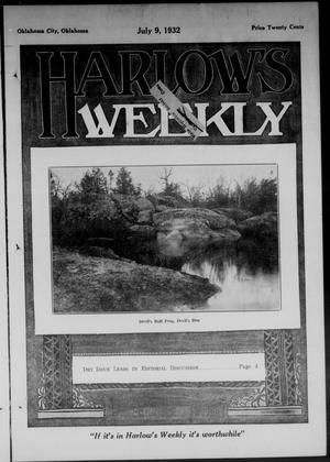 Primary view of Harlow's Weekly (Oklahoma City, Okla.), Vol. 39, No. 28, Ed. 1 Saturday, July 9, 1932