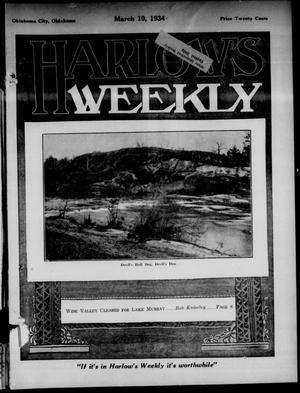 Primary view of Harlow's Weekly (Oklahoma City, Okla.), Vol. 42, No. 9, Ed. 1 Saturday, March 10, 1934