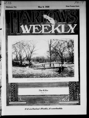 Primary view of Harlow's Weekly (Oklahoma City, Okla.), Vol. 25, No. 19, Ed. 1 Saturday, May 8, 1926