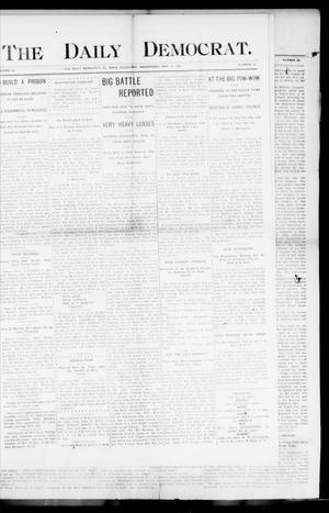 Primary view of object titled 'The Daily Democrat. (El Reno, Okla.), Vol. 4, No. 50, Ed. 1 Wednesday, May 11, 1904'.