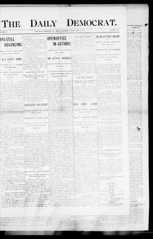 Primary view of object titled 'The Daily Democrat. (El Reno, Okla.), Vol. 4, No. 52, Ed. 1 Friday, May 13, 1904'.