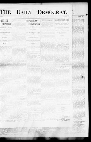 Primary view of object titled 'The Daily Democrat. (El Reno, Okla.), Vol. 4, No. 57, Ed. 1 Thursday, May 19, 1904'.