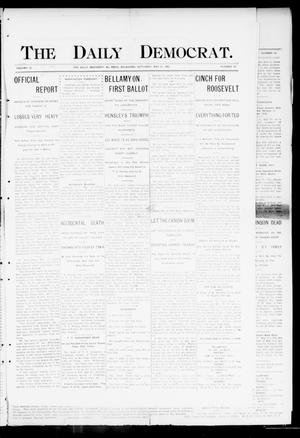 Primary view of object titled 'The Daily Democrat. (El Reno, Okla.), Vol. 4, No. 59, Ed. 1 Saturday, May 21, 1904'.