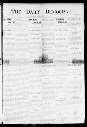 Primary view of object titled 'The Daily Democrat. (El Reno, Okla.), Vol. 4, No. 54, Ed. 1 Friday, May 27, 1904'.