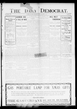 Primary view of object titled 'The Daily Democrat. (El Reno, Okla. Terr.), Vol. 4, No. 231, Ed. 1 Monday, December 19, 1904'.