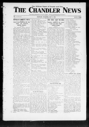 Primary view of The Chandler News (Chandler, Okla.), Vol. 15, No. 31, Ed. 1 Thursday, May 3, 1906
