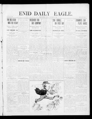 Primary view of object titled 'Enid Daily Eagle. (Enid, Okla.), Vol. 7, No. 308, Ed. 1 Tuesday, September 15, 1908'.
