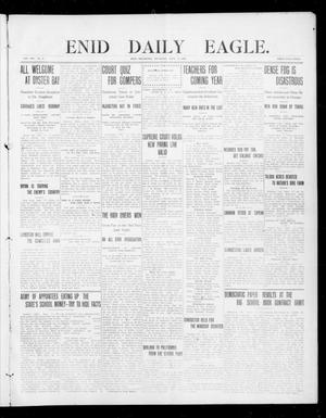 Primary view of object titled 'Enid Daily Eagle. (Enid, Okla.), Vol. 8, No. 2, Ed. 1 Thursday, September 17, 1908'.
