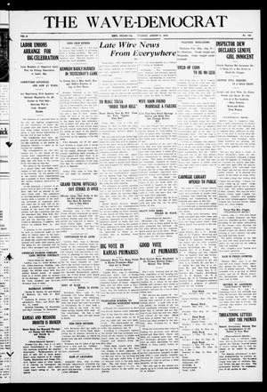 Primary view of The Wave-Democrat (Enid, Okla), Vol. 1, No. 143, Ed. 1 Tuesday, August 2, 1910
