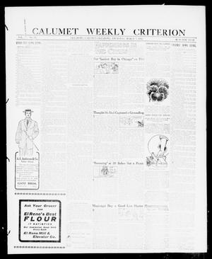 Primary view of object titled 'Calumet Weekly Criterion (Oklahoma [Calumet], Okla.), Vol. 4, No. 34, Ed. 1 Thursday, March 7, 1912'.