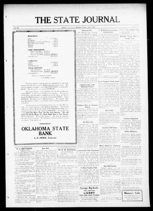 Primary view of object titled 'The State Journal (Mulhall, Okla.), Vol. 14, No. 26, Ed. 1 Friday, June 2, 1916'.