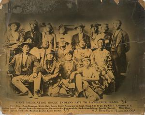 Primary view of First Osage Delegation