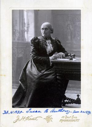 Primary view of Susan B Anthony