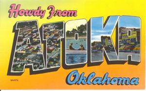Primary view of object titled 'Atoka, OK'.