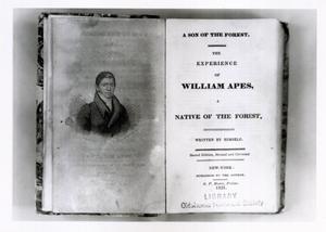 Primary view of William Apes