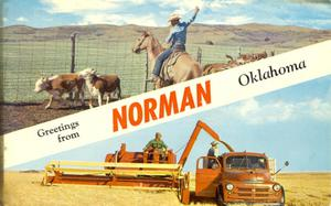Primary view of object titled 'Norman, OK'.