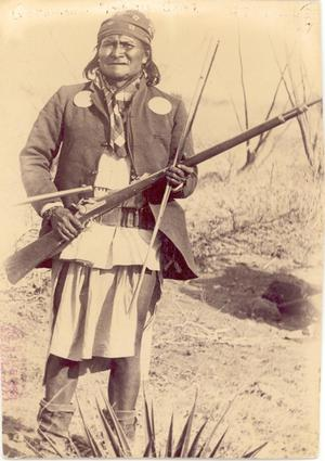 Primary view of object titled 'Chief Geronimo'.