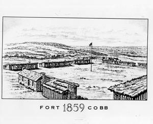 Primary view of Fort Cobb, OK