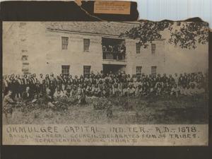 Primary view of Okmulgee Capitol