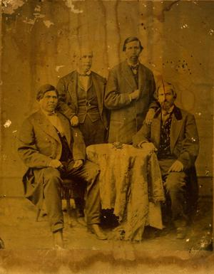 Primary view of Choctaw Treaty Delegation Members