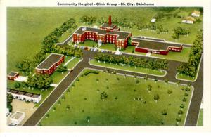 Primary view of object titled 'Elk City Hospital'.