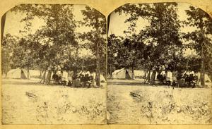 Primary view of Tent Encampment Stereo view