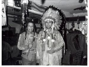 Primary view of object titled 'Iron Eyes Cody and Jerry Elliott'.