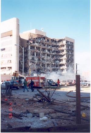 Primary view of object titled 'Murrah Building Bombing'.