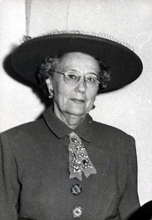 Primary view of object titled 'Oklahoma State Federation of Women's Clubs past president, Mrs.'.