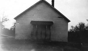 Primary view of object titled 'Cisco School, District 17, in southeastern Carter County.'.