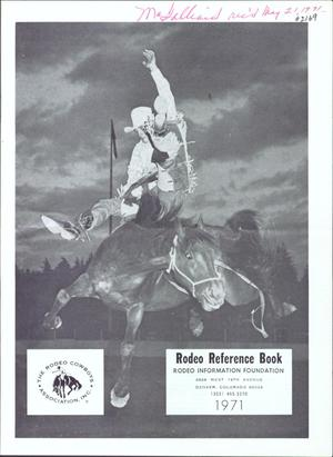 Rodeo Reference Book, 1971