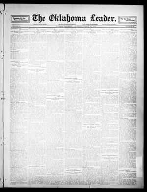 Primary view of object titled 'The Oklahoma Leader. (Guthrie, Okla.), Vol. 21, No. 19, Ed. 1 Thursday, March 16, 1911'.