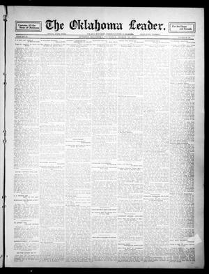 Primary view of object titled 'The Oklahoma Leader. (Guthrie, Okla.), Vol. 21, No. 20, Ed. 1 Thursday, March 23, 1911'.