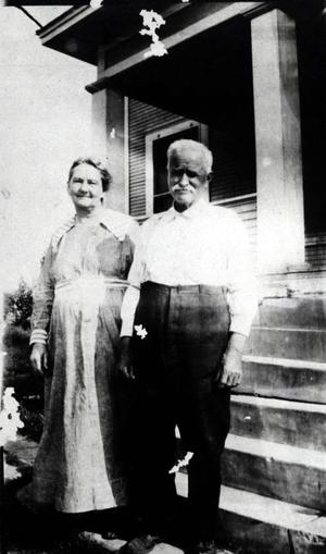 Primary view of object titled 'Dol Jackson and his wife Sally Hyden Jackson.'.