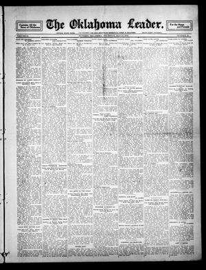 Primary view of object titled 'The Oklahoma Leader. (Guthrie, Okla.), Vol. 21, No. 26, Ed. 1 Thursday, May 25, 1911'.