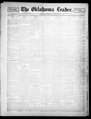 Primary view of object titled 'The Oklahoma Leader. (Guthrie, Okla.), Vol. 21, No. 7, Ed. 1 Thursday, July 13, 1911'.