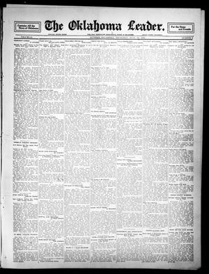 Primary view of object titled 'The Oklahoma Leader. (Guthrie, Okla.), Vol. 21, No. 8, Ed. 1 Thursday, July 20, 1911'.