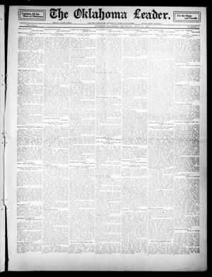 Primary view of object titled 'The Oklahoma Leader. (Guthrie, Okla.), Vol. 21, No. 9, Ed. 1 Thursday, July 27, 1911'.