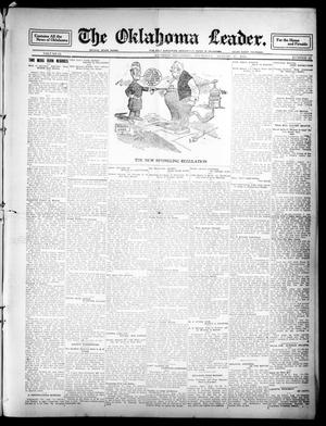 Primary view of object titled 'The Oklahoma Leader. (Guthrie, Okla.), Vol. 21, No. 12, Ed. 1 Thursday, August 17, 1911'.