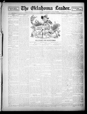 Primary view of object titled 'The Oklahoma Leader. (Guthrie, Okla.), Vol. 21, No. 13, Ed. 1 Thursday, August 24, 1911'.