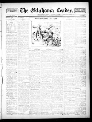 Primary view of The Oklahoma Leader. (Guthrie, Okla.), Vol. 22, No. 12, Ed. 1 Thursday, February 15, 1912