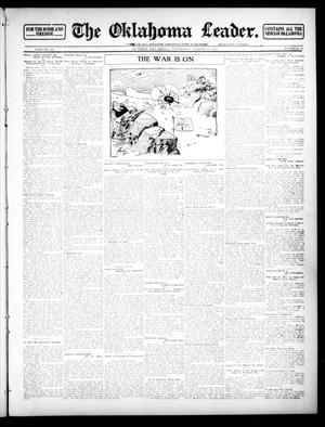 Primary view of object titled 'The Oklahoma Leader. (Guthrie, Okla.), Vol. 22, No. 17, Ed. 1 Thursday, March 21, 1912'.