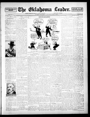 Primary view of object titled 'The Oklahoma Leader. (Guthrie, Okla.), Vol. 22, No. 24, Ed. 1 Thursday, May 23, 1912'.