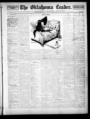Primary view of object titled 'The Oklahoma Leader. (Guthrie, Okla.), Vol. 23, No. 3, Ed. 1 Thursday, June 27, 1912'.