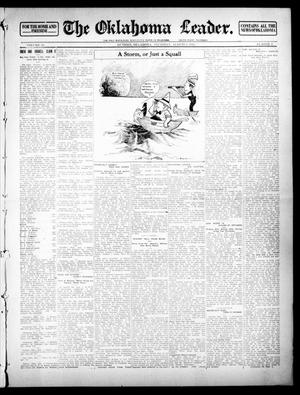 Primary view of object titled 'The Oklahoma Leader. (Guthrie, Okla.), Vol. 23, No. 9, Ed. 1 Thursday, August 8, 1912'.