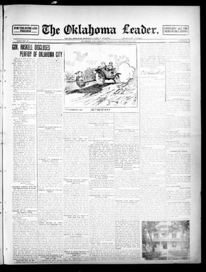 Primary view of object titled 'The Oklahoma Leader. (Guthrie, Okla.), Vol. 23, No. 19, Ed. 1 Thursday, October 24, 1912'.