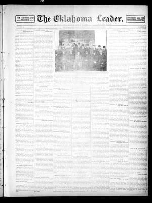Primary view of object titled 'The Oklahoma Leader. (Guthrie, Okla.), Vol. 24, No. 2, Ed. 1 Thursday, December 26, 1912'.